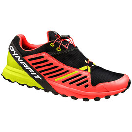 Dynafit - Alpine Pro W Black/Lime Punch - Trailschuhe - Größe: 6,5 UK
